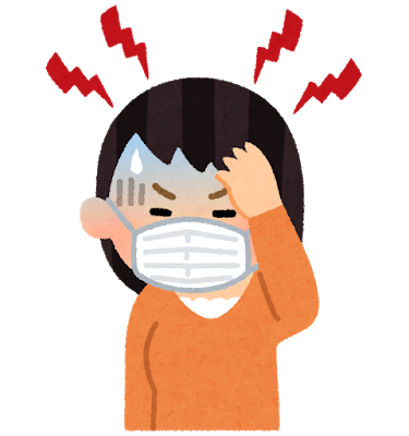 こめかみを押したら一時的に頭痛が取れるが、すぐに再発してしまう。二本松市のきくち接骨院へ